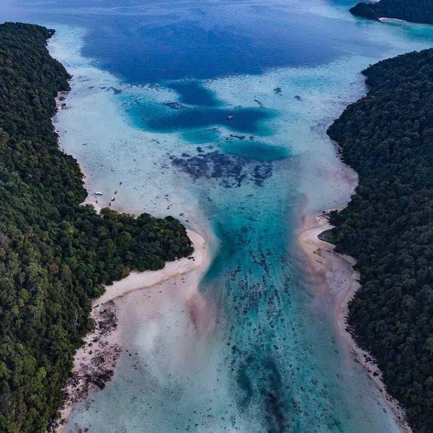 Surin Islands in Thailand