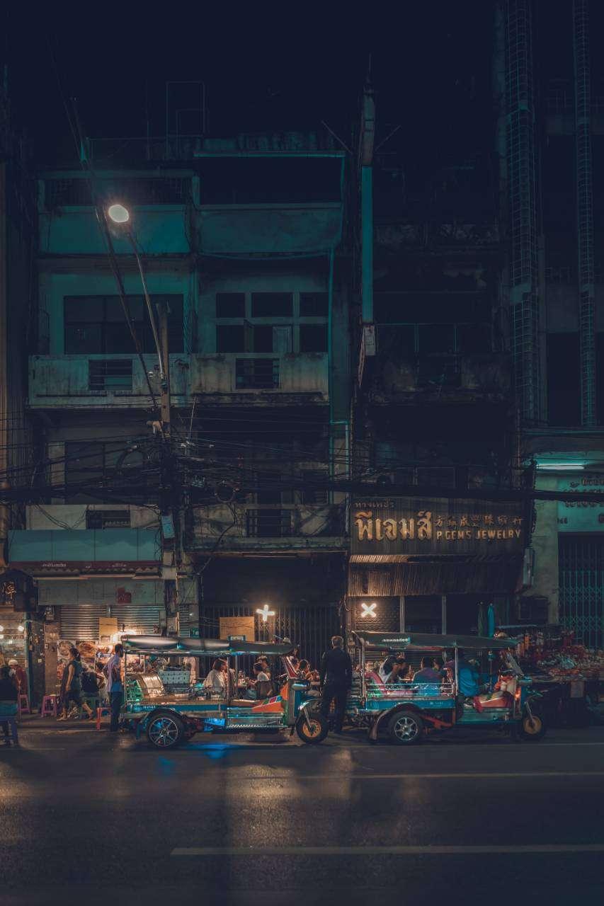 Chinatown (Bangkok) at night