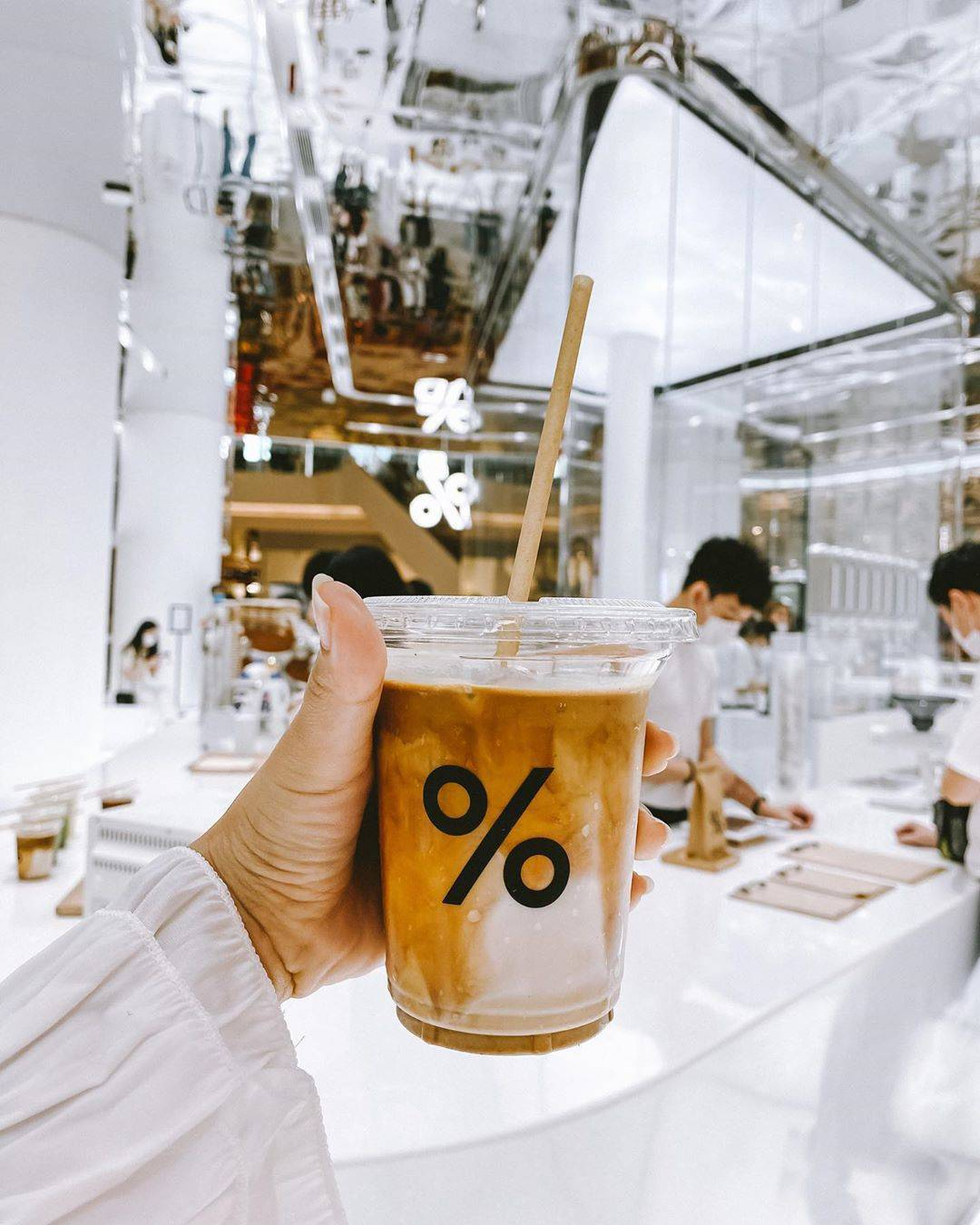 Cafe Arbica in ICONSIAM, Bangkok