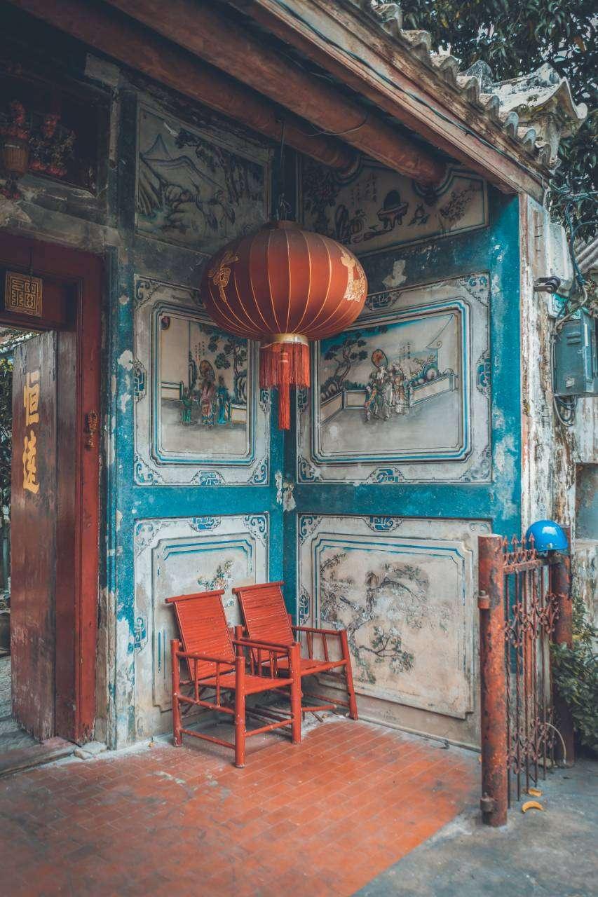 So Heng Tai Mansion in China Town, Bangkok