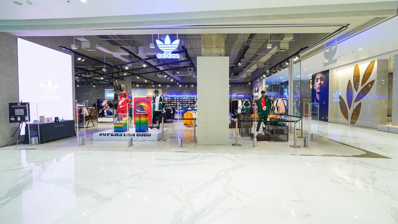 Adidas Concept Store in ICONSIAM, Bangkok