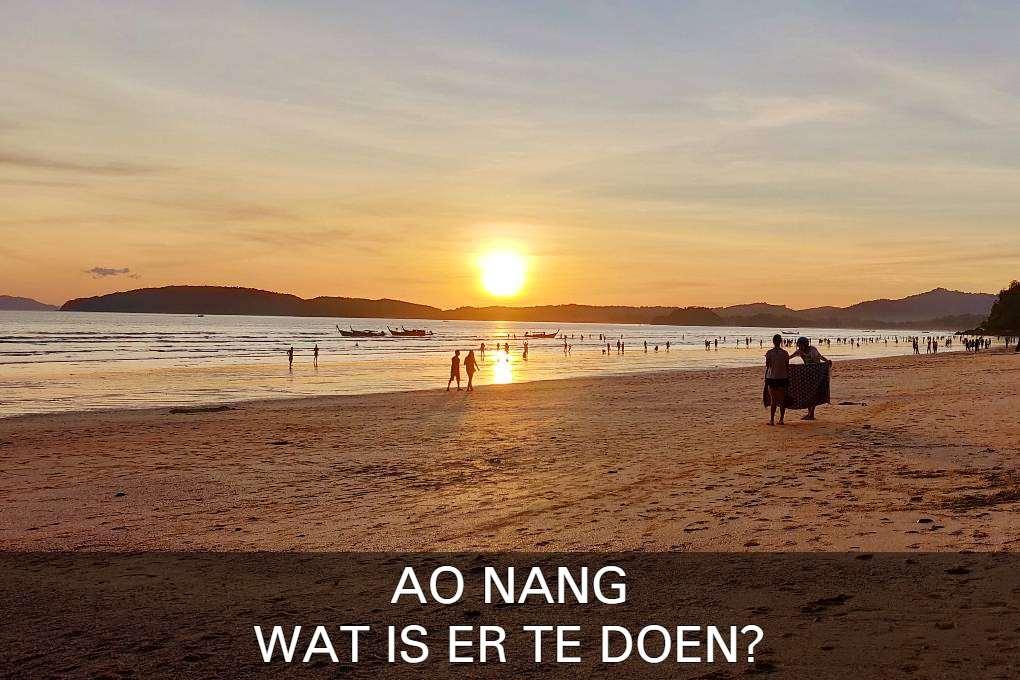 Klik Hier Om Erachter Te Komen Wat Er Te Doen Is In Ao Nang