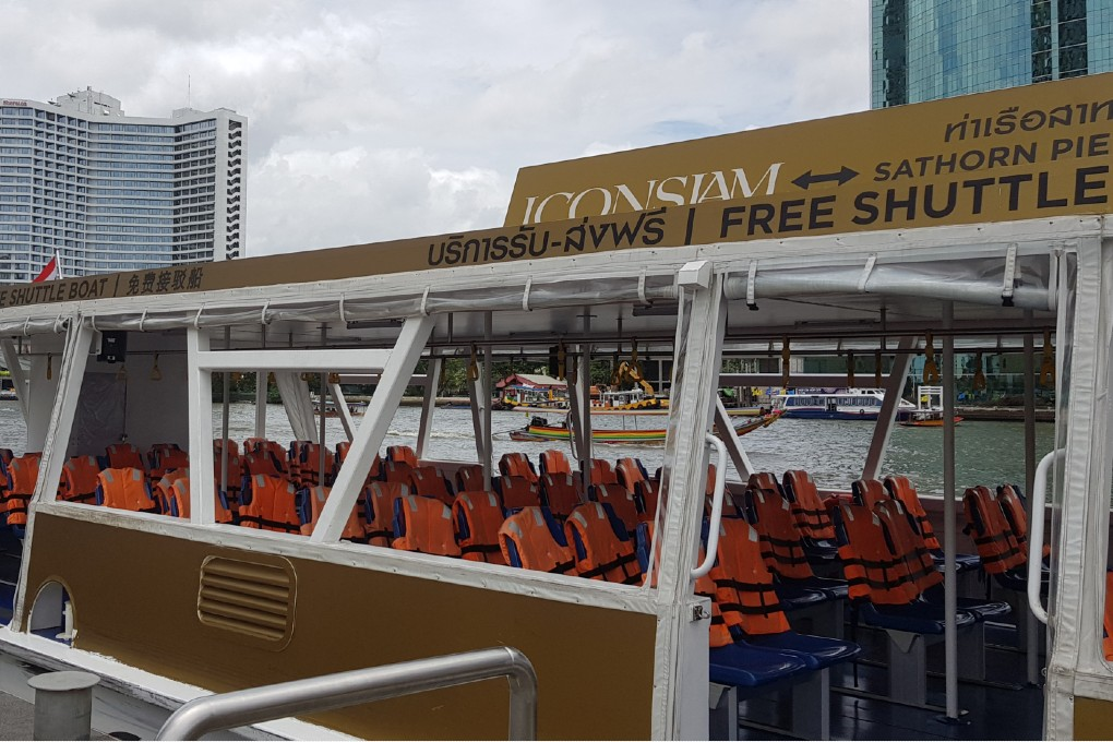 Gratis shuttle boat naar ICONSIAM
