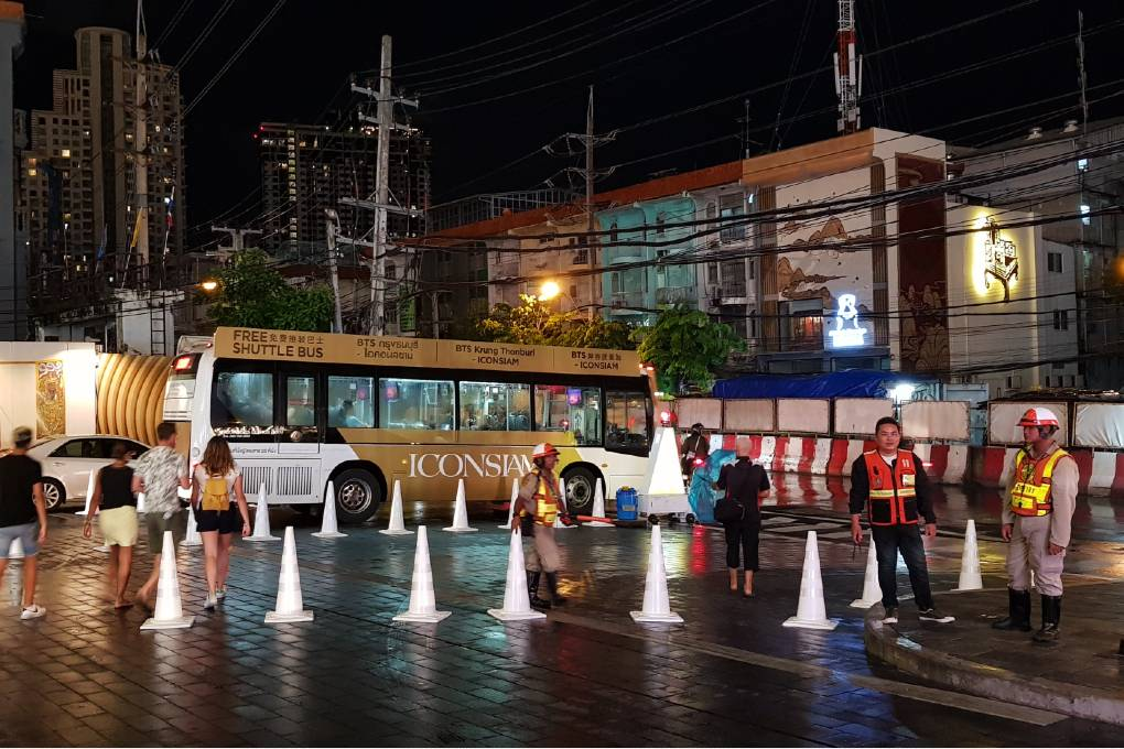 Gratis bus shuttle naar ICONSIAM
