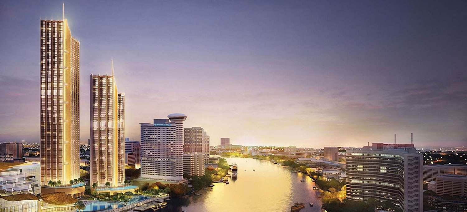 Magnolias Waterfront Residences ICONSIAM the tallest building in Bangkok in 2020