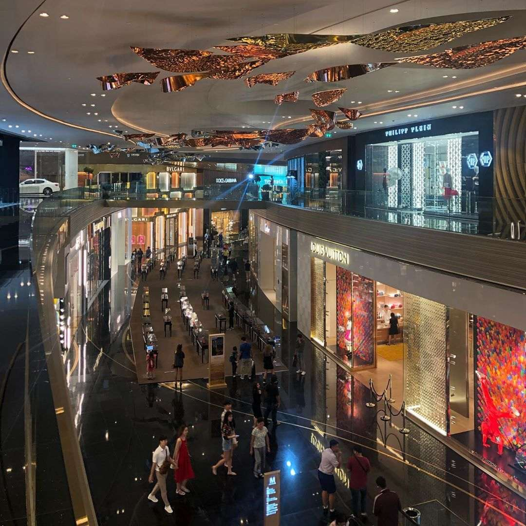 ICONLUXE in ICONSIAM Bangkok with all luxury fashion brands