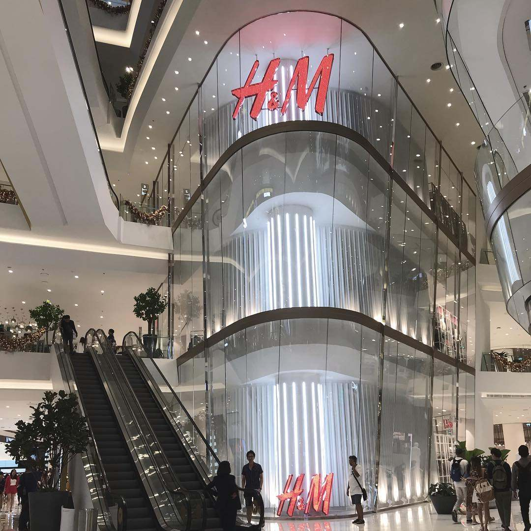 H&M in ICONSIAM in Bangkok, Thailand