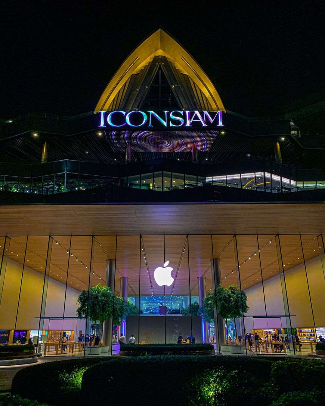 Outside ICONSIAM