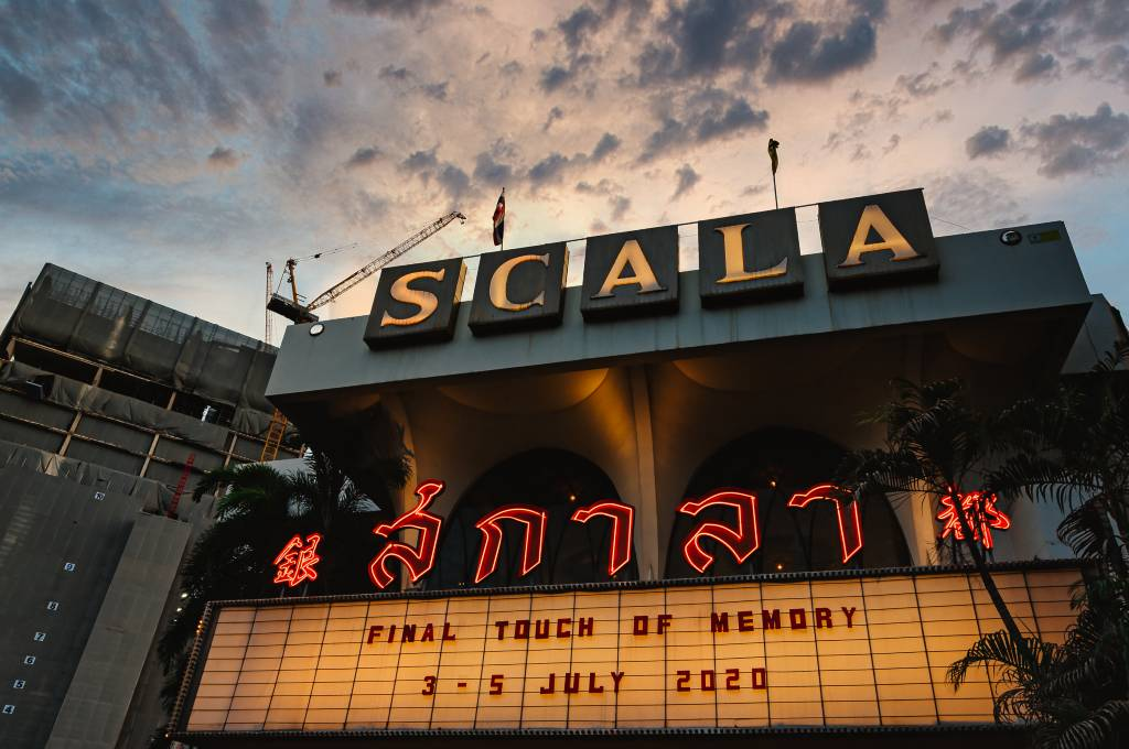 Last opening days of the Scala Theatre in Bangkok