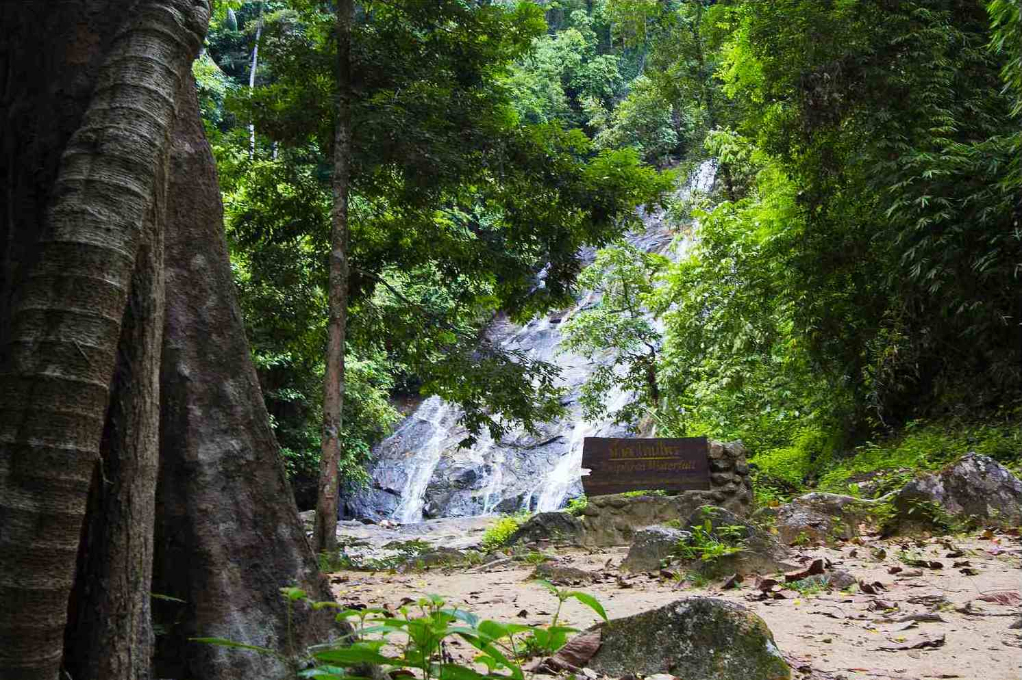 Ton Prai Waterfall in khao Lak