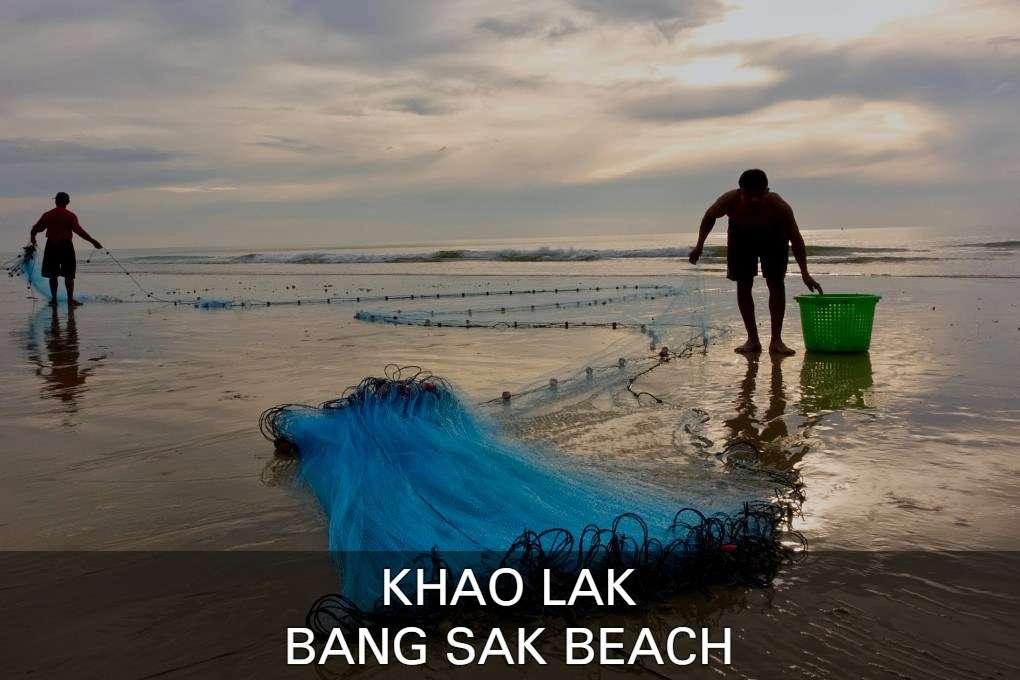 Lees hier alles over Bang Sak Beach met locale vissers