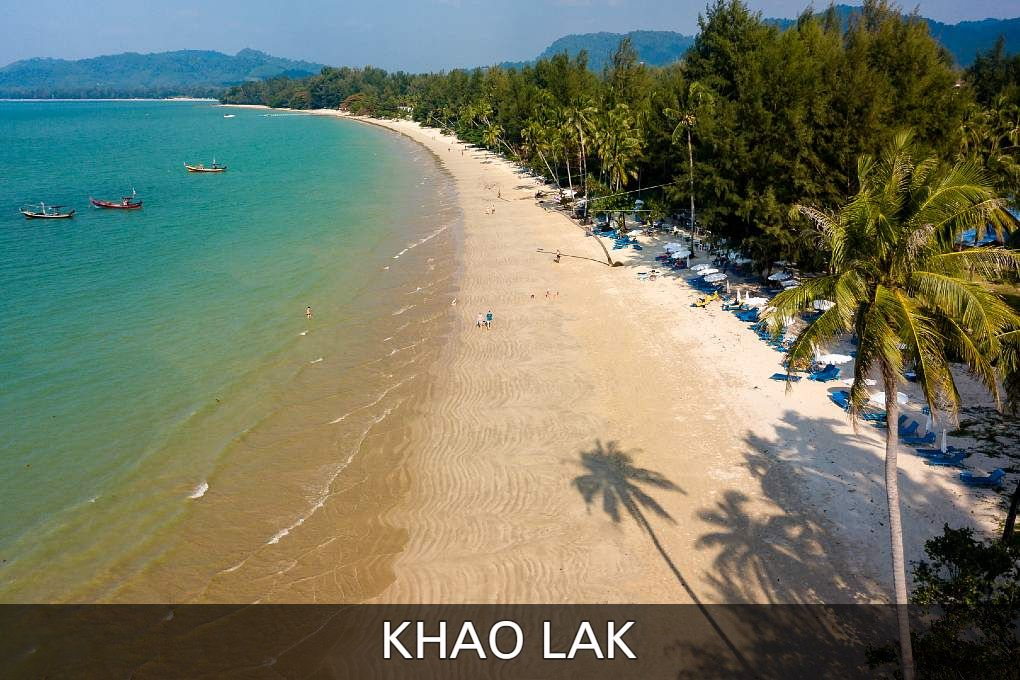 Read all about the beautiful beaches and attractions of Khao Lak in Thailand.