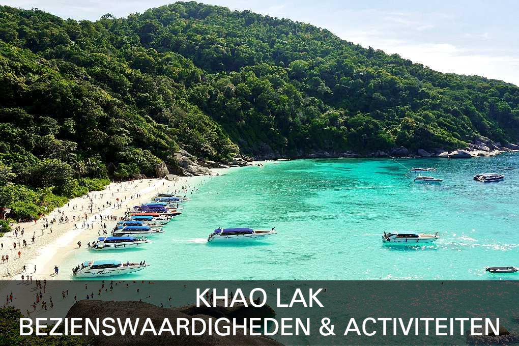 Lees hier wat er te doen is in Khao Lak