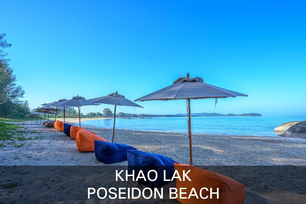 Read all about the undiscovered beach Poseidon Beach / Lam Kaen Beach inn Khao Lak
