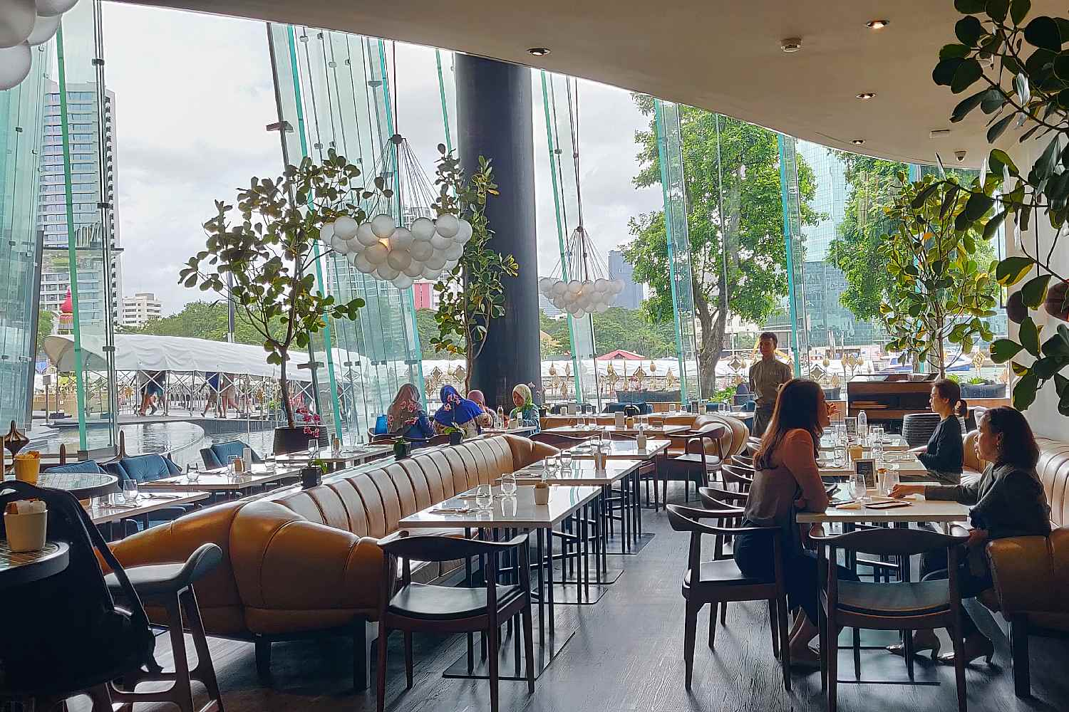 D'ARk, a great restaurant in The Veranda by ICONLUXE, part of ICONSIAM in Bangkok, Thailand.
