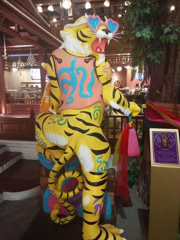 Versieringen in ICONSIAM, Bangkok