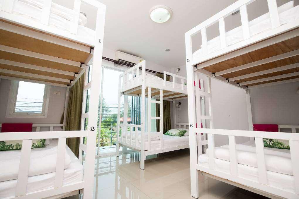 Dormroom at Dkaya Hostel in Bang Niang, Khao Lak in Thailand