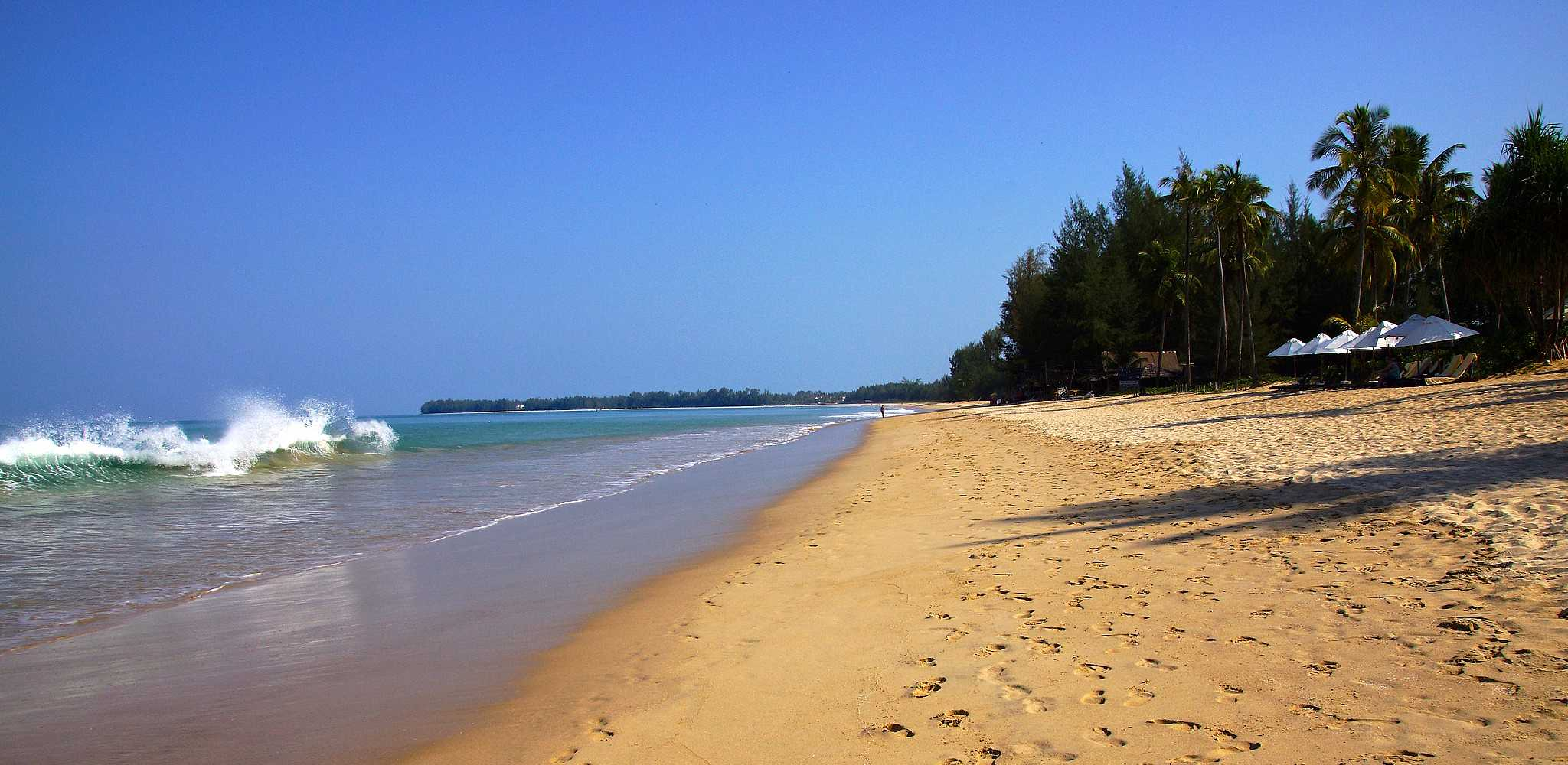Goudgele strand van Khuk Khak