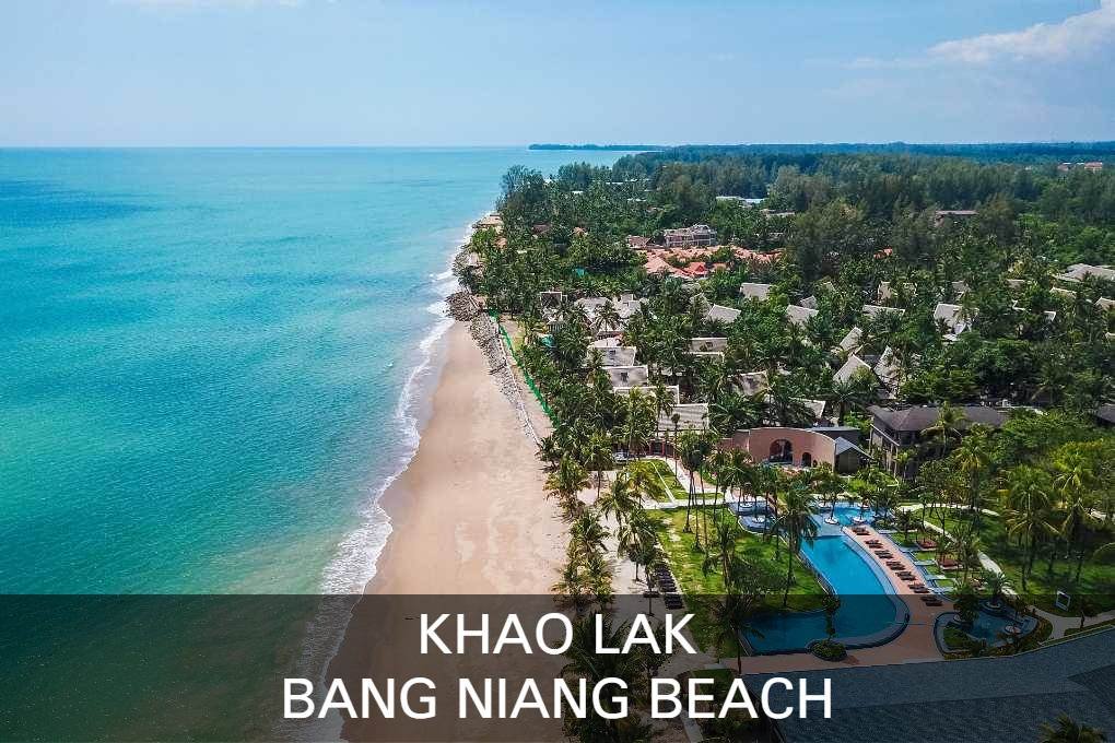 Lees hier alles over het populaire strand Bang Niang in Khao Lak