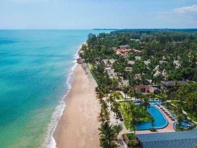 Khao Lak Beach Vanuit De Lucht