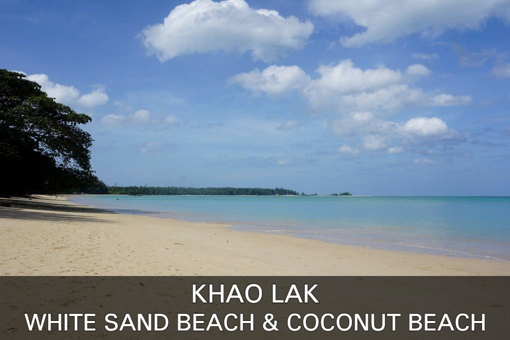 Lees hier alles over het strand van White Sand Beach en Coconut Beach