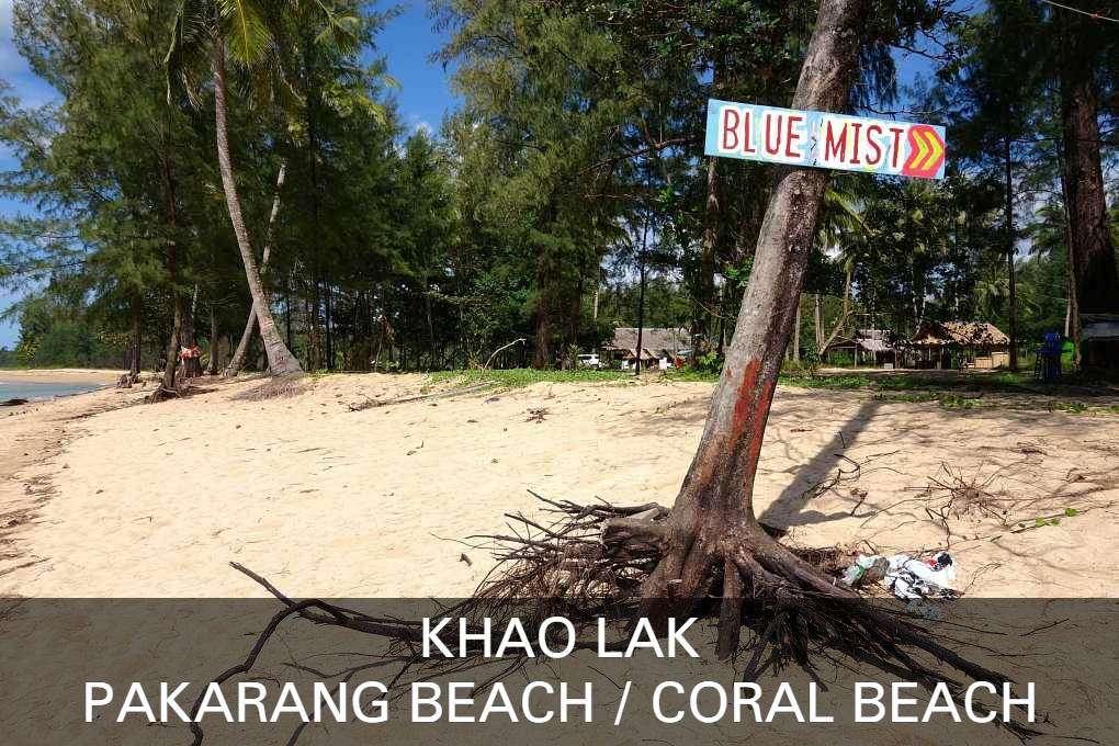 Lees Hier Alles Over Pakarang Beach En Coral Beach In Khao Lak