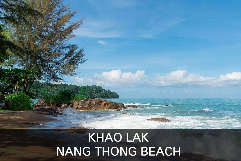 Lees Hier Alles Over Het Het Centrum Van Khao Lak, Nang Thong Beach