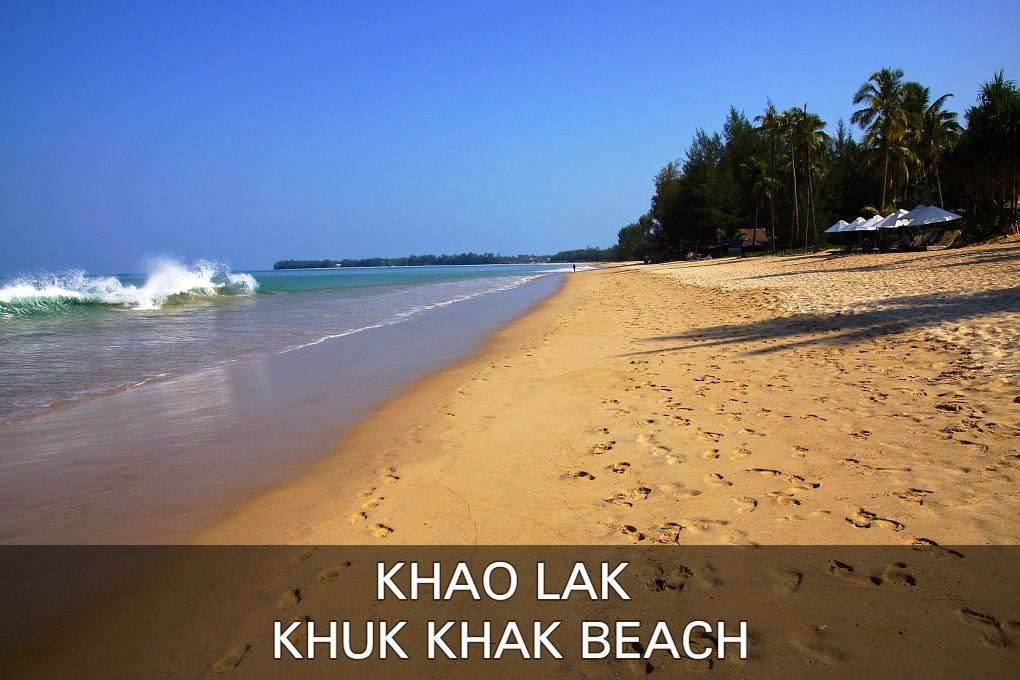 Read all about the quiet beach here, Khuk Khak Bach in Khao Lak, Thailand