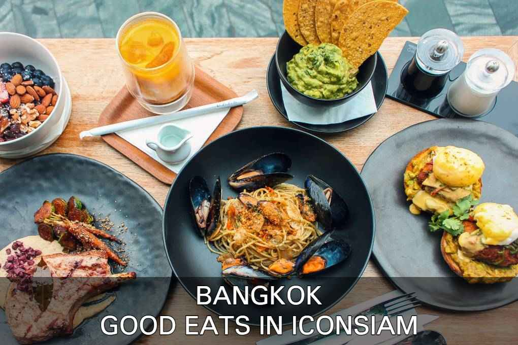 See where you can have good eats in ICONSIAM, Bangkok