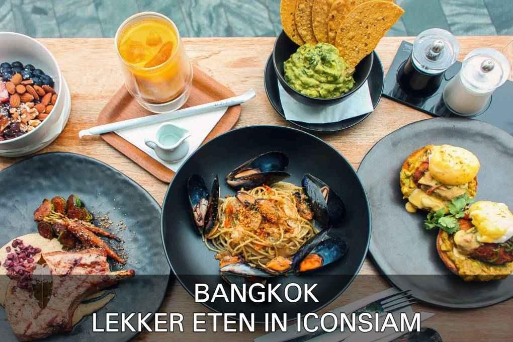 Bekijk De Beste Eetgelegenheden In ICONSIAM, Bangkok