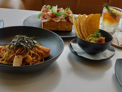 Dishes At D'ARK In The Veranda Of ICONSIAM In Bangkok