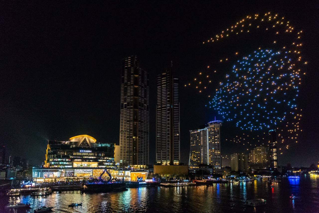 Fireworks at ICONSIAM