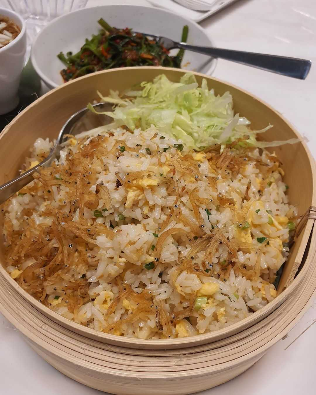 Rice with crab at Jumbo Seafood in The Veranda of ICONSIAM, Bangkok