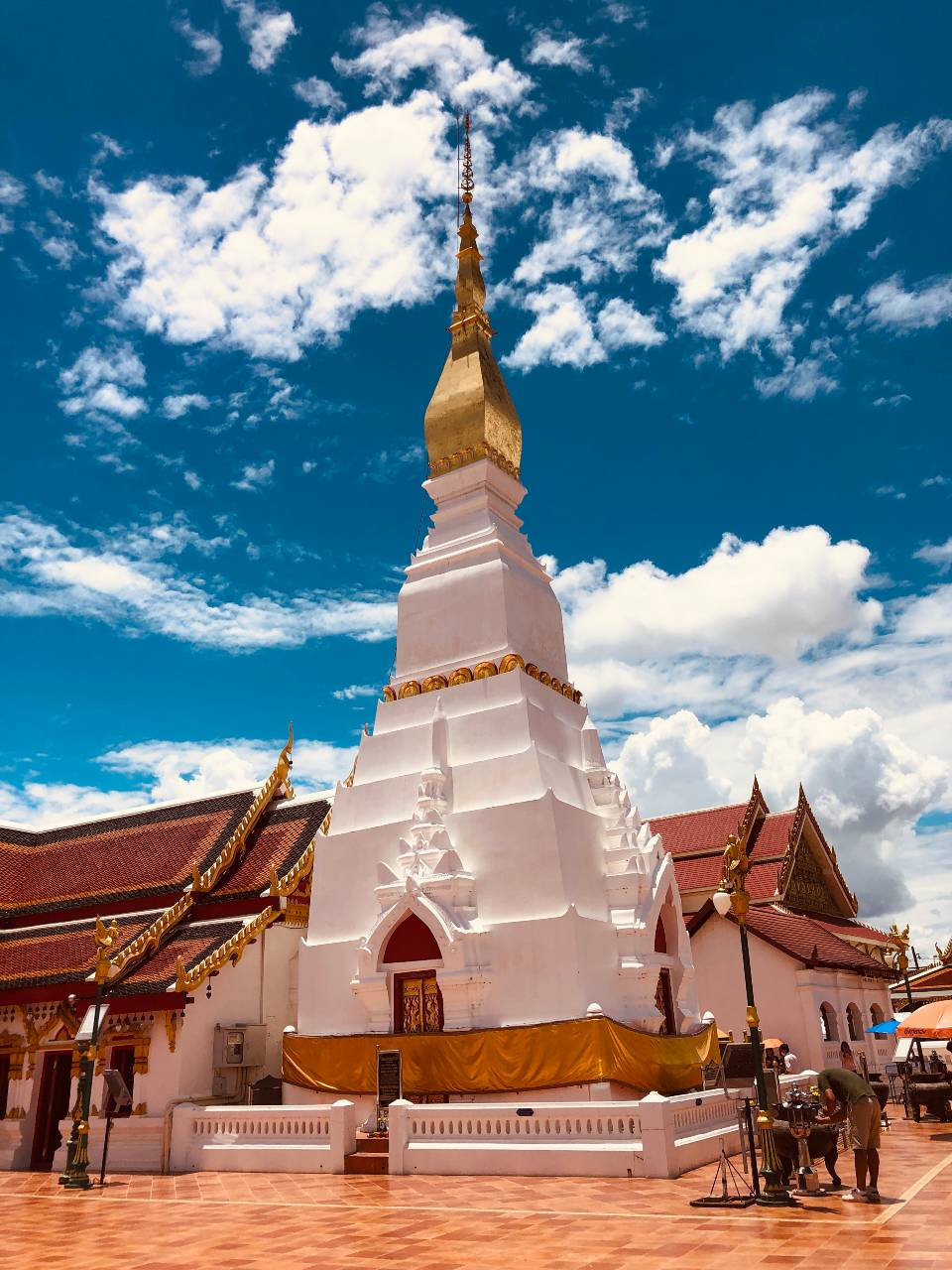 Wat Phra That Choeng Chum in Sakon Nakhon, Thailand