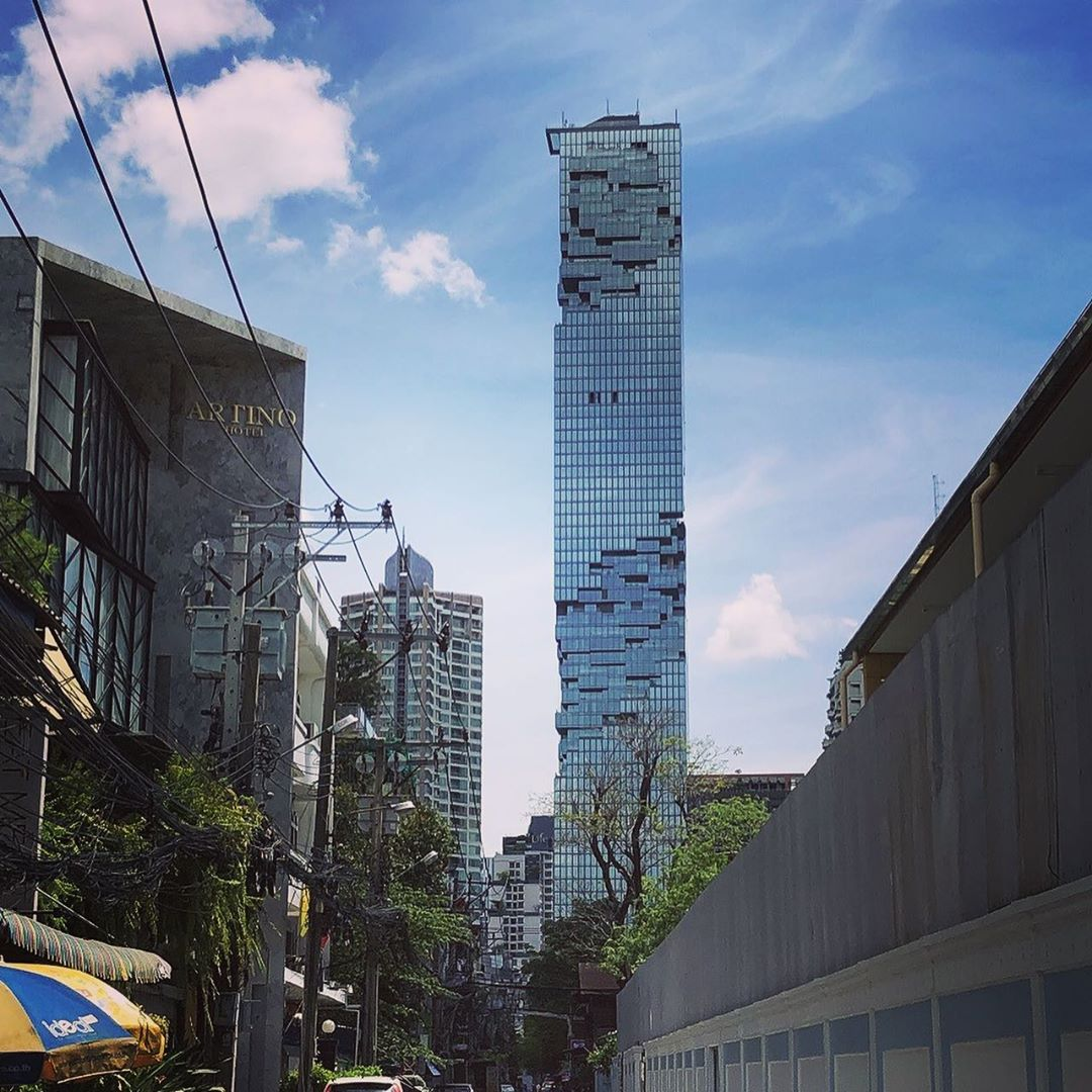 The King Power MahaNakhon building in Bangkok