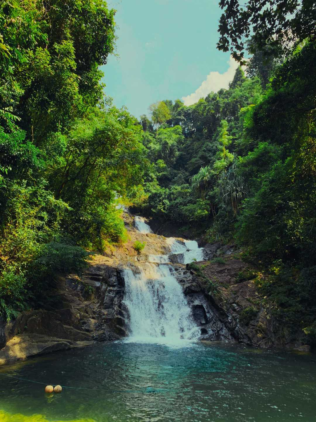 Lampi Waterfall in Khao Lak