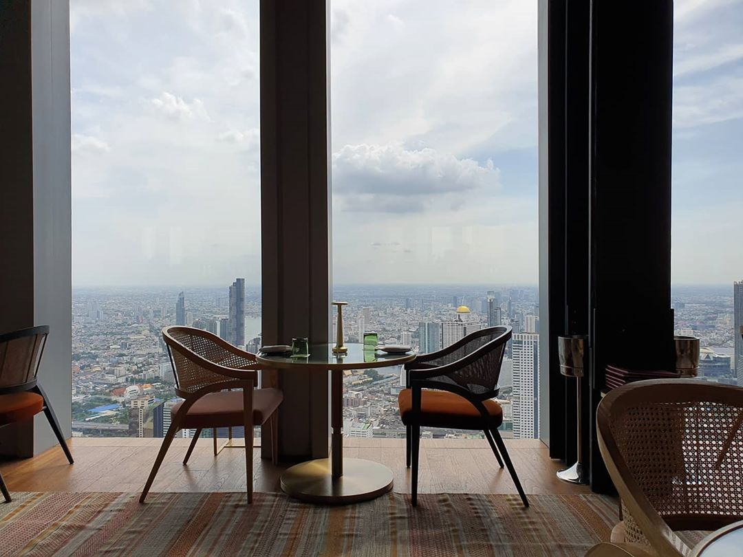 The Skybar in Bangkok's King Power MahaNakhon building