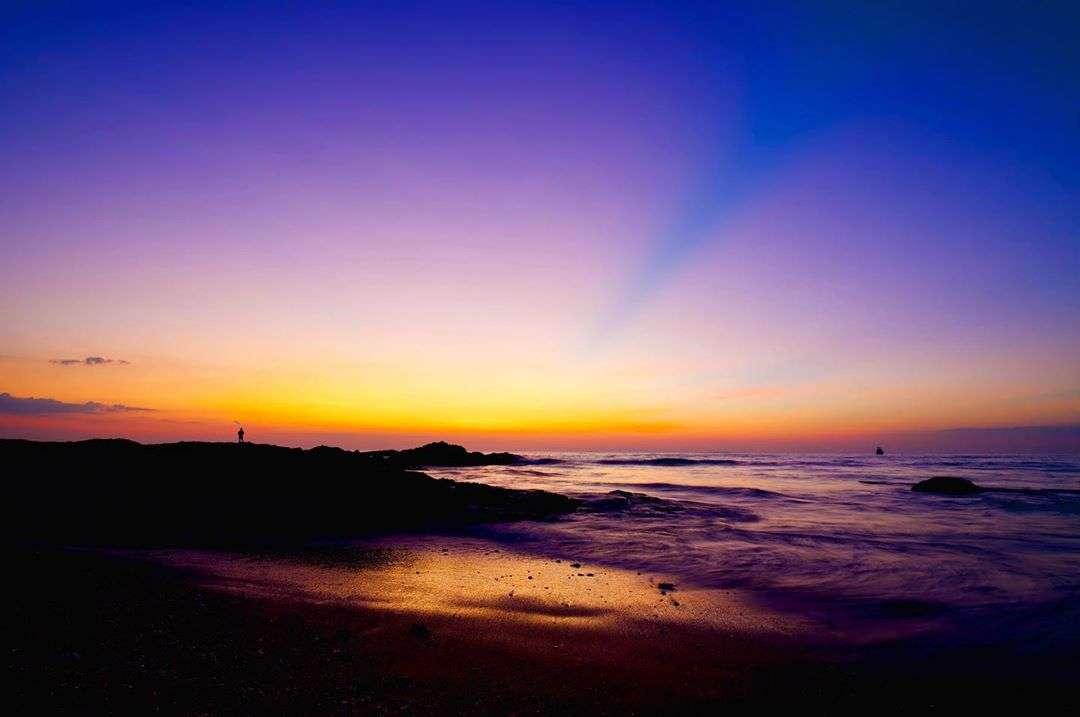 Sunset on Bang Niang Beach