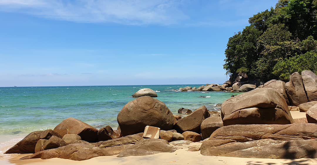 Little White Sandy Beach in Khao Lak