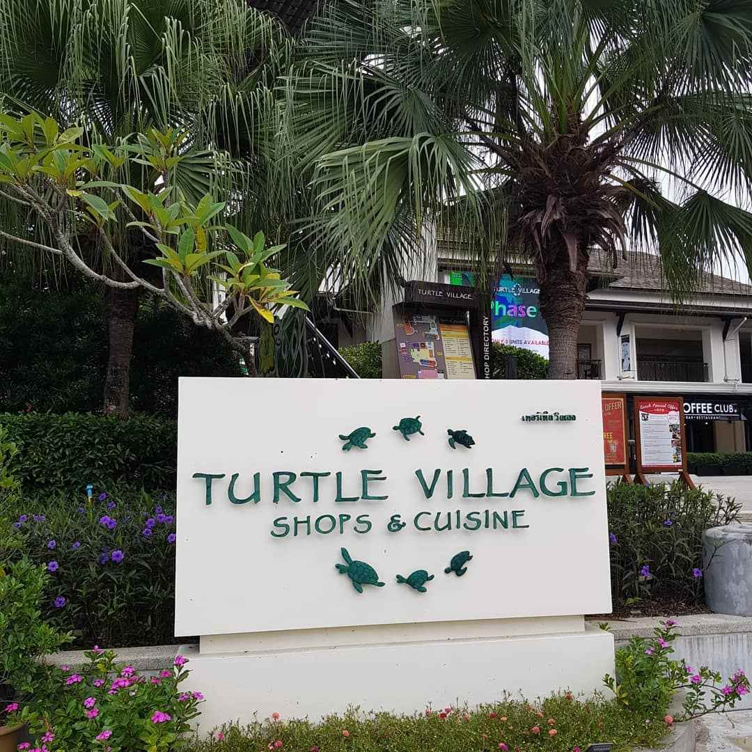Turtle Village Shops & Cuisine in Mai Khao Beach, Phuket