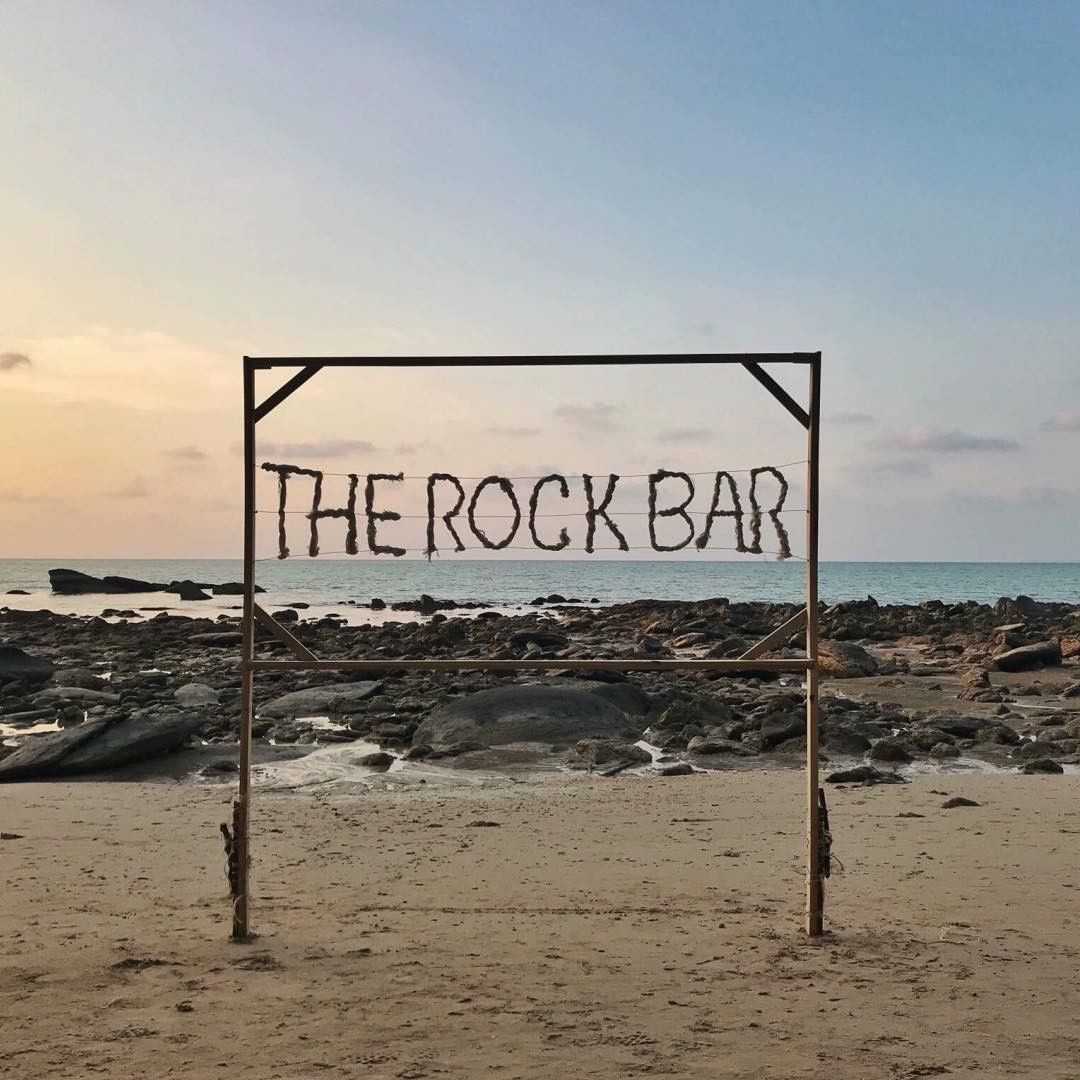 The Rock Bar op Pak Weep Beach