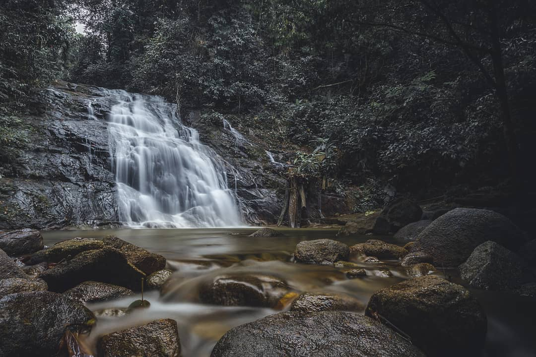 Ton Chong Fa Waterfall in Khao Lak