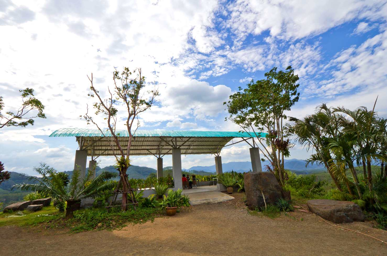 Phang Nga Viewpoint Restaurant in Phang Nga Town