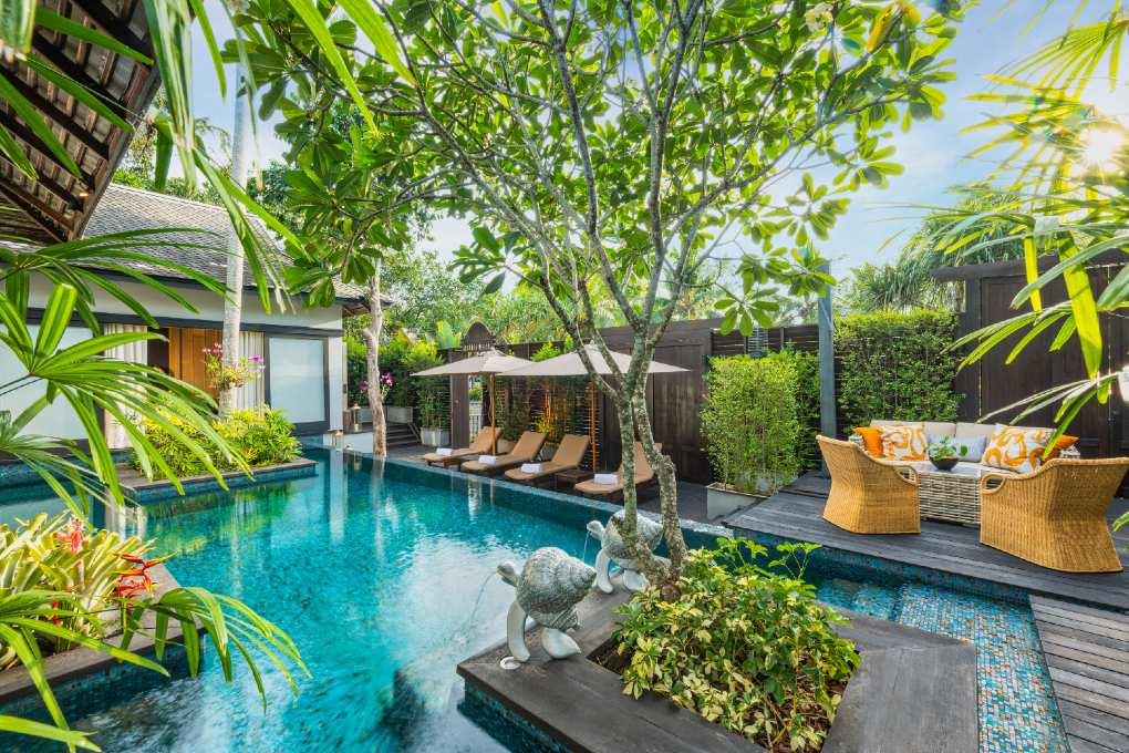 Two Bedroom Royal Villa by Jim Thompson van het Anantara in Mai Khao, Phuket