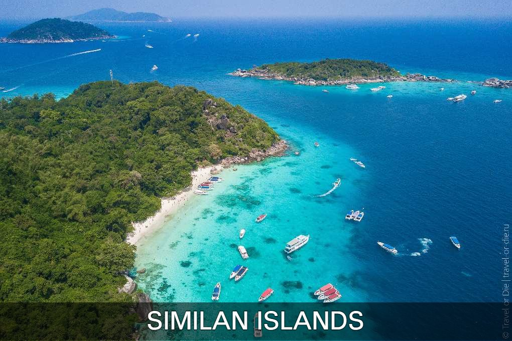 Click here to read more about the Similan Islands in Thailand