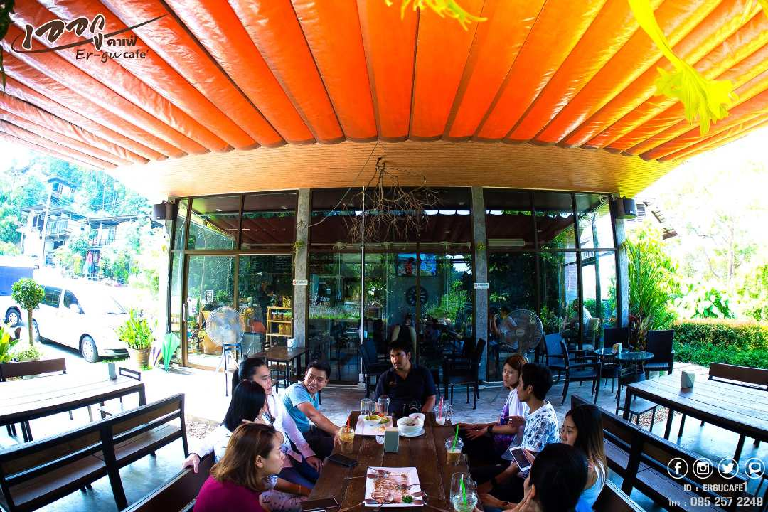 Terrace and restaurant in Phang Nga