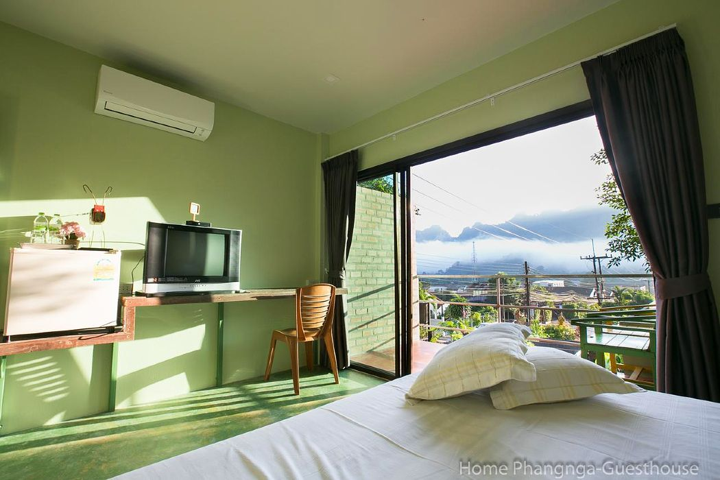 Hotel room with mountain views in Phang Nga Town, Thailand