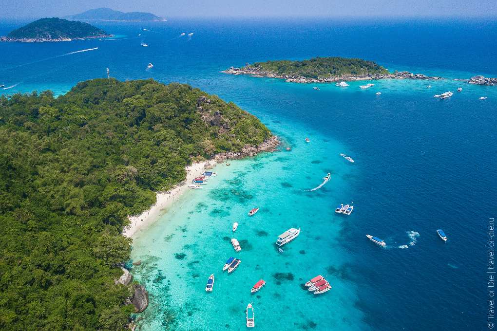 Click here for all information about the Similan Islands in Thailand