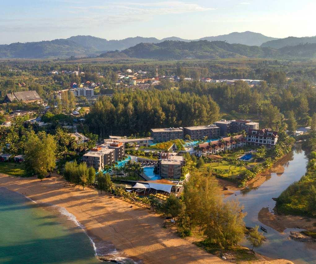 La Vela Resort at Bang Niang Beach in Khao Lak, Thailand