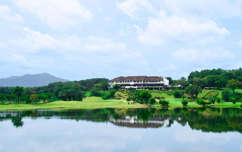 Golf Club House van het Blue Canyon Country Club in Mai Khao Phuket